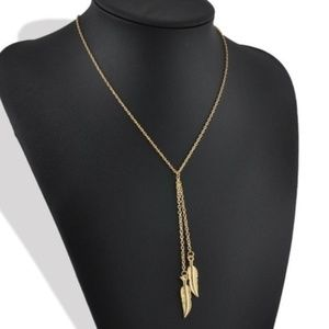 Jewelry - Double Feather Necklace